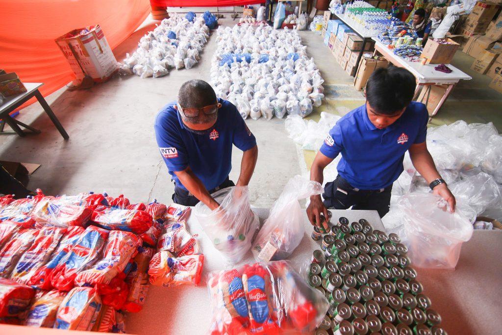 Relief Operation ng Ang Dating Daan, MCGI at UNTV sa mga Biktima ng Taal Volcano Eruption