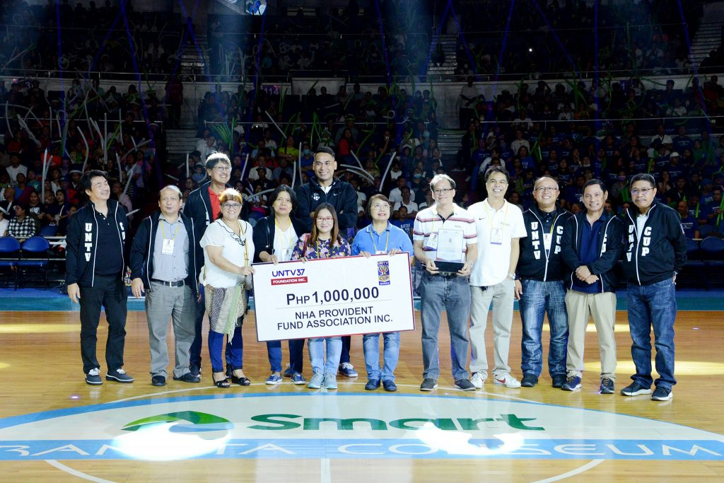 UNTV Cup Season 8 Cash Assistance sa Charity Beneficiary